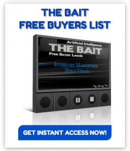 The Bait Free Buyers Leads